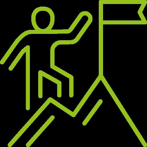 icone objectif coaching sportif à distance